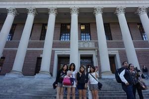 ハーバード大学にて1